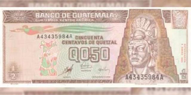 Billete de 50 centavos