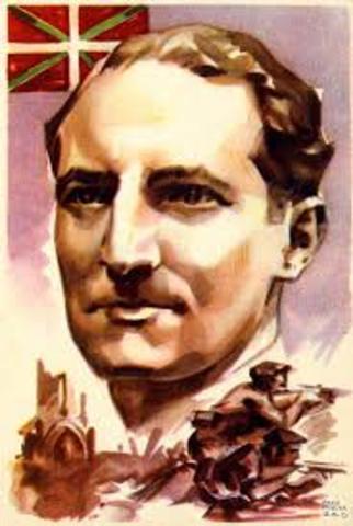 La elección del primer presidente vasco, José Antonio Aguirre