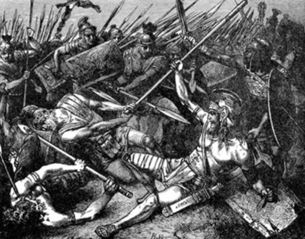 El imperio persa es destruido por Alexandro Magno