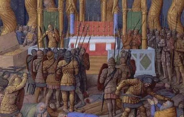 Jerusalem es capturada por el general romano Pompeyo.