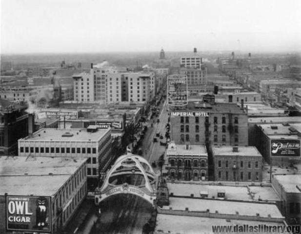 Population of Dallas: 92,104