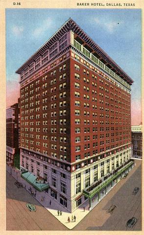 Baker Hotel & Ferris Plaza