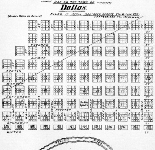 Dallas granted town charter