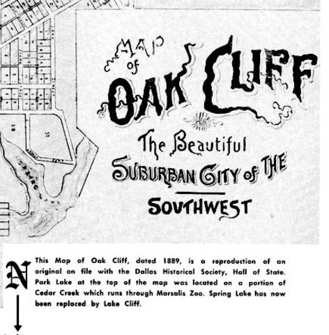 Annexation of Oak Cliff