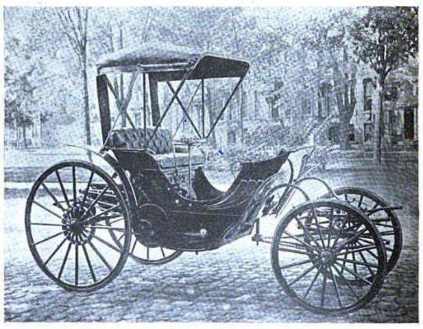 Ned Green brings 1st automobile to Dallas