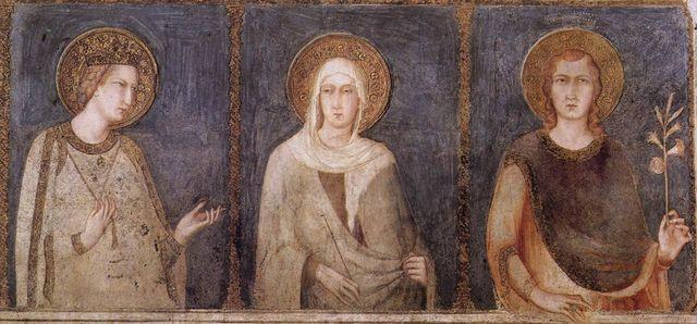 Cappella di San Martino, Assisi, Basilica Inferiore, Simone Martini