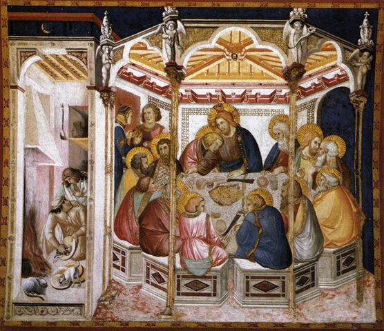 Affreschi transetto destro Basilica Inferiore, Pietro Lorenzetti