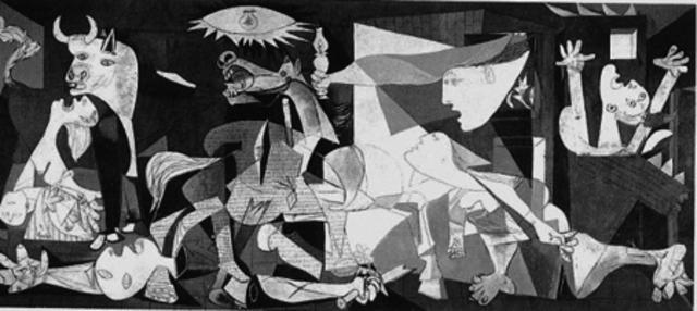 Picasso Bombardeo Guernica