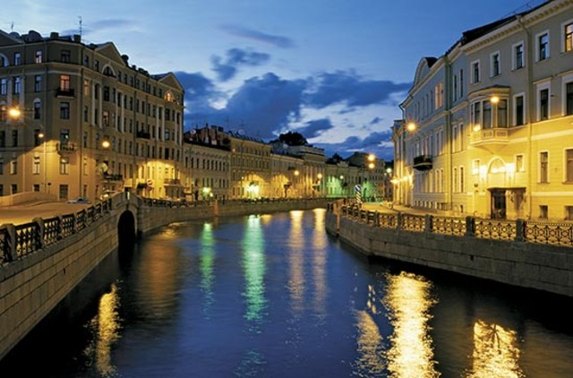 St. Petersburg founded by Peter the Great of Russia
