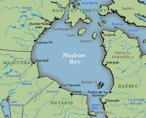 Hudson: Hudson Strait & Hudson Bay