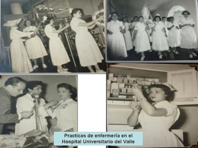 Os começos da profissão Colômbia