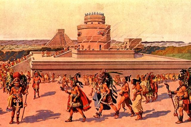 Sociedades de la Edad Antigua Mayas
