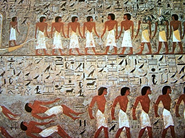 Sociedades de la Edad Antigua Egipcios