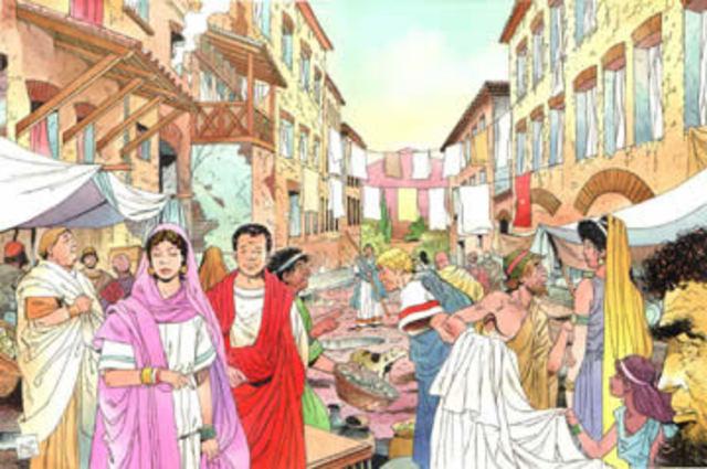 Sociedades de la Edad Antigua Romana