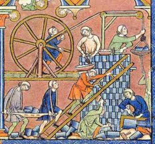 Edad Media: Fase Industrial