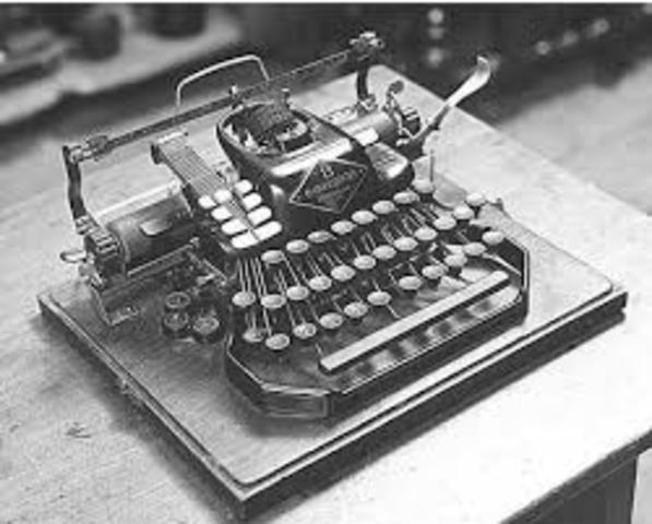 Typewriter (Industrial Age)
