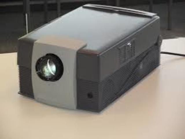 LCD Projector (Electronic Age)