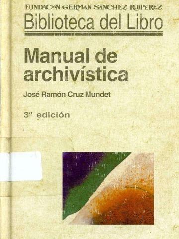 Nuevo manual Archivistico Holandés