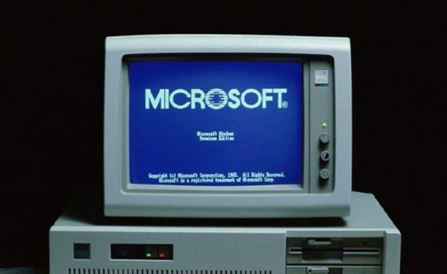 Nacimiento del sistema Microsoft Windows