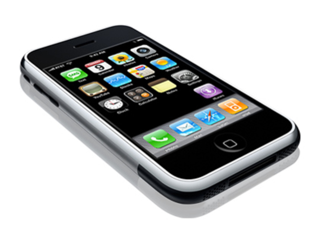 Nacimiento del teléfono móvil  táctil