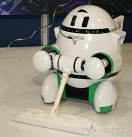 Robot que limpia