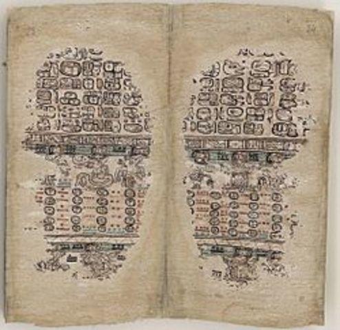 *Codex in Mayan Region(PRE-INDUSTRIAL)