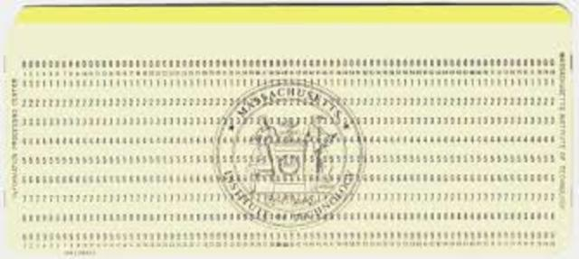 Punch Cards (INDUSTRIAL AGE)