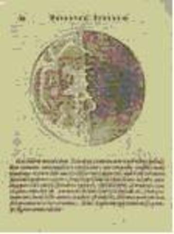 Galileo realizó con su telescopio las primeras observaciones de la Luna.