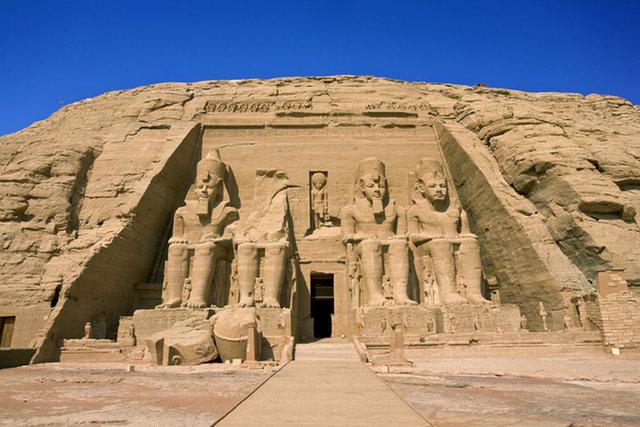 Abu Simbel Temples - Ramses II - Ancient Egypt - 1264 BCE to 1244 BCE