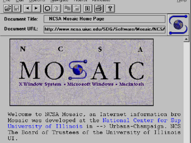 *Web Browser: Mosaic (INFORMATION AGE)