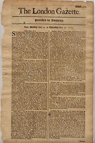 Newspaper (The London Gazette)