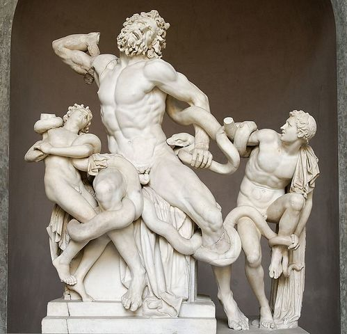 Laocoon and His Sons - Agesander, Polydorus, and Athenodorus of Rhodes - Ancient Greece - 42 BCE to 20 BCE