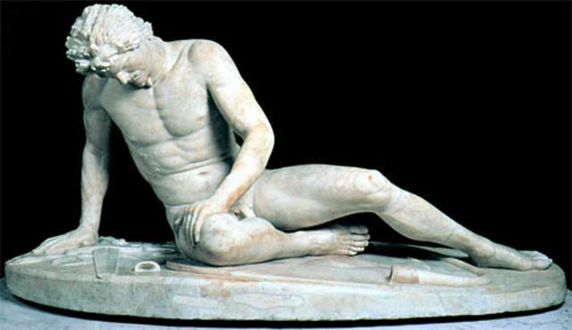 Dying Gaul - Epigonus - Ancient Rome - 230 BCE to 220 BCE