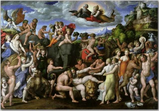 Der Triumph des Baccus (Benvenuto Tisi Garofalo)