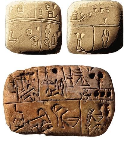 Escritura móvil en arcilla