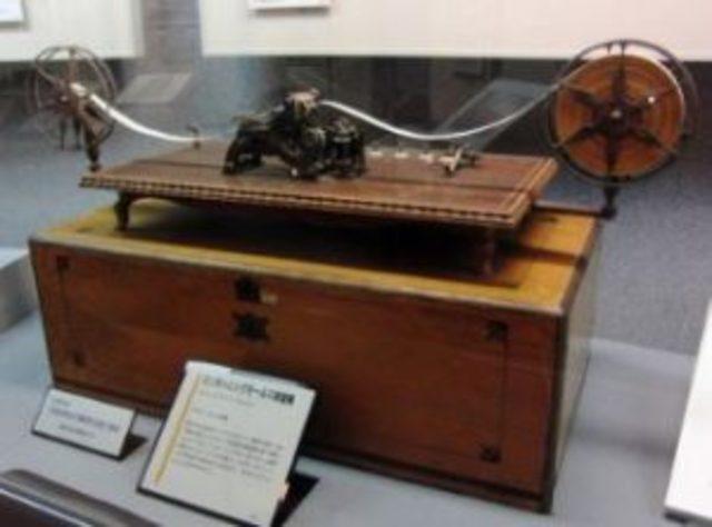 Año 1833  El telégrafo