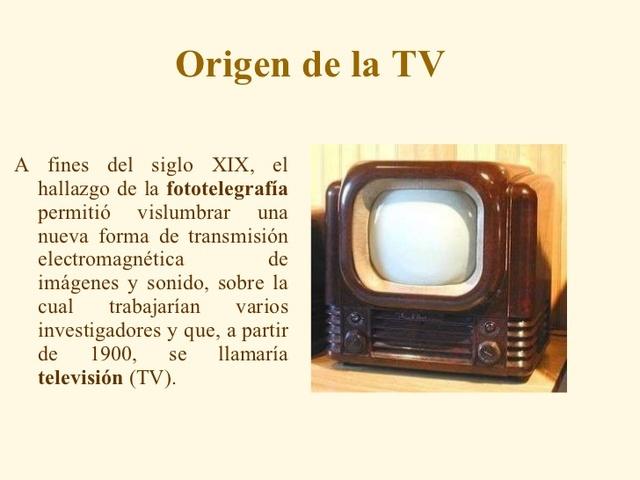 AÑO- 1927 La televisión