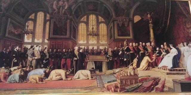 พ.ศ.2228 พระวิสูตรสุนทร (โกษาปาน) เป็นฑูตไปฝรั่งเศส กลับมาพร้อมกับสิเออร์โชมองต์ ได้ทำสัญญาค้าขายกัน