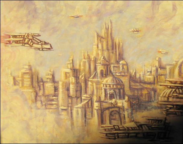 The regend of Golden City