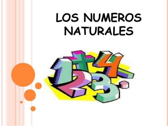 Aparición de los números natural
