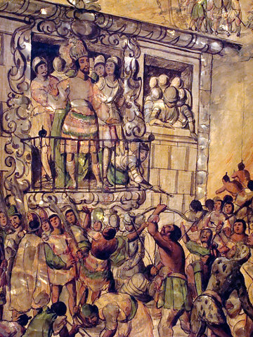 Death of Montezuma II