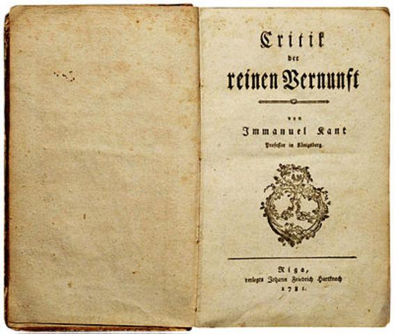 Kritik der reinen Vernunft (Kant)