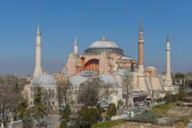 The Church of Hagia Sophia - Byzantine - 532 to 537
