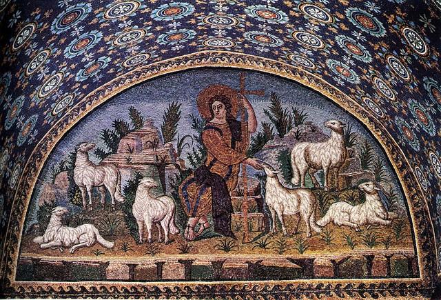 Good Shepherd, Byzantine, c. 425–426 CE