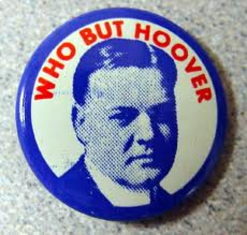 President Hoover is Elected