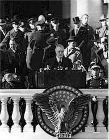 President Franklin D. Roosevelt is Elected