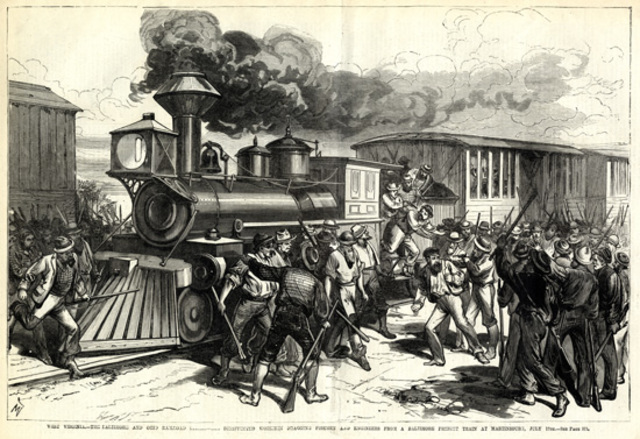 The Martinsburg Strike
