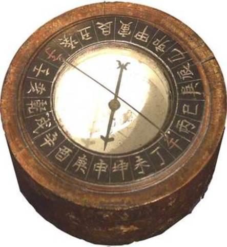 Mariner's compass found