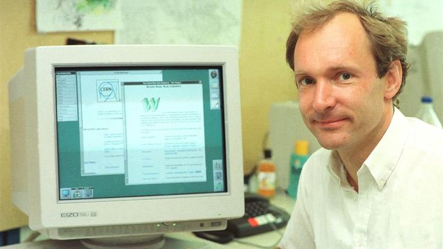 World Wide Web introduced
