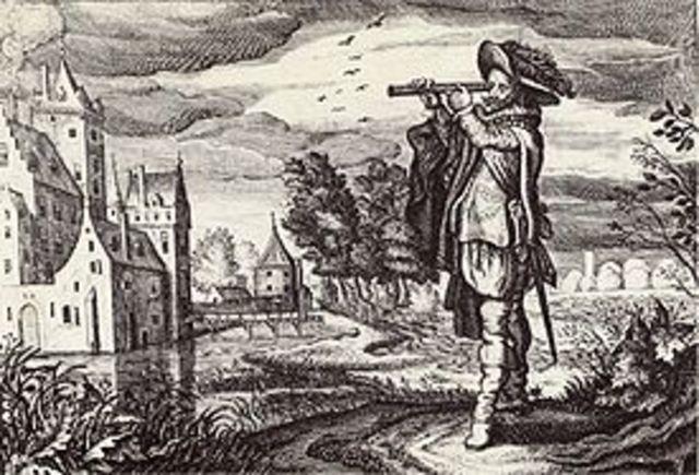 Invention of telescope